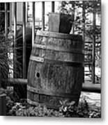 Roll Out The Barrel Metal Print by Shelley Blair