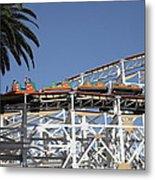 Roller Coaster - 5d17608 Metal Print