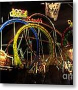 Rollercoaster At The Dom Metal Print