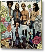 Rolling Stone Cover - Volume #196 - 9/25/1975 - The Eagles Metal Print