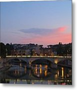 Roma Sunset Metal Print by Tia Anderson-Esguerra
