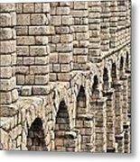 Roman Aqueduct Segovia Metal Print