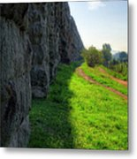 Roman Aqueducts Metal Print