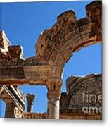 Roman Arch Ephesus Turkey Metal Print