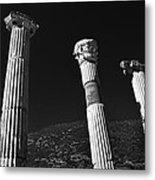 Roman Columns. Metal Print