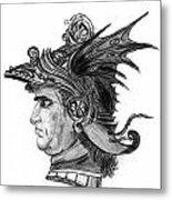 Roman Gladiator Metal Print