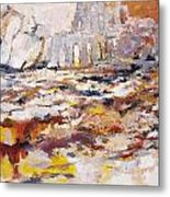 Roman Relicts Abstract 4 Metal Print