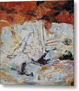 Roman Relicts Abstract 5 Metal Print