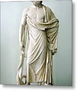 Roman Statue Of Asclepius Metal Print by Sheila Terry