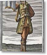 Roman Trumpet, 1723 Metal Print