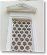 Roman Window Villa Metal Print