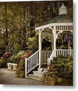 Romantic Garden Metal Print