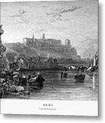 Rome: Aventine Hill, 1833 Metal Print