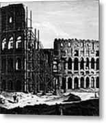 Rome: Colosseum, C1864 Metal Print