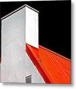 Roof And Chimney Metal Print