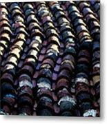 Roof Tiles 2 Metal Print