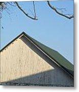 Roofline And Walnut Tree Metal Print
