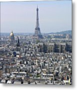 Roofs Of Paris From The Notre Dame Metal Print by Romeo Reidl