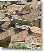 Roofs Of Provence Metal Print by Bernard Gaillot