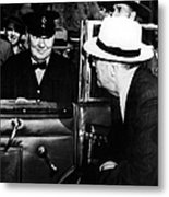 Roosevelt & Churchill, 1944 Metal Print