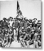 Roosevelt & Rough Riders Metal Print
