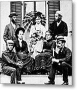 Roosevelt Family 1878 Metal Print