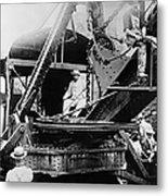 Roosevelt, Panama Canal Construction Metal Print