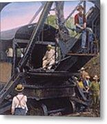 Roosevelt: Panama Canal Metal Print