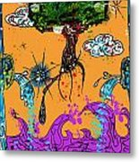 Rooted Envisionary Metal Print by Eleigh Koonce