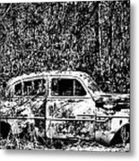 Roots That Drive Metal Print