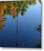 Rope Reflection Metal Print