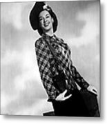 Rosalind Russell, Ca. Early 1940s Metal Print