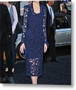 Rose Byrne Wearing A Marc Jacobs Dress Metal Print by Everett