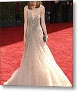 Rose Byrne Wearing A Valentino Gown Metal Print