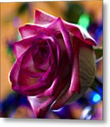Rose Celebration Metal Print by Bill Tiepelman