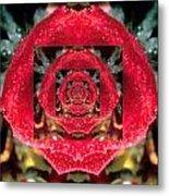 Rose Cut Metal Print