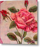 Rose Of Love And Romance Metal Print