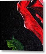 Rose Petal Metal Print