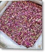 Rose Petals Metal Print by Tia Anderson-Esguerra