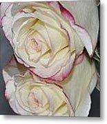 Rose Reflection Metal Print