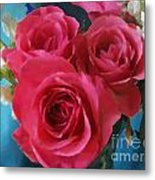 Roses In January Metal Print