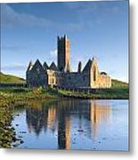 Rosserk Friary, Co Mayo, Ireland 15th Metal Print