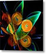 Rotating By Wind Metal Print