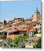Roussillon In Provence Metal Print