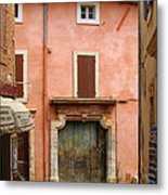 Roussillon Painted Door Metal Print