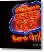 Route 66 Bar And Grill Metal Print