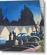 Route 66 Brandon Mural Metal Print