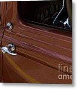 Route 66 Classic Cars 14 Metal Print