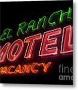 Route 66 El Rancho Metal Print