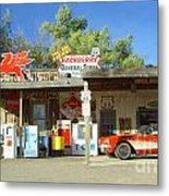 Route 66 Hackberry Arizona Metal Print